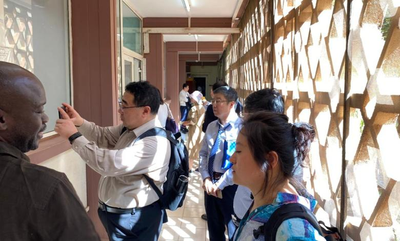 Photo of UCRC: A Chinese delegation visits the laboratories