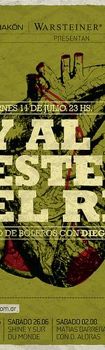 poster design inspiration 17 - y al este el rio