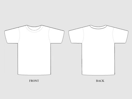 19 Free Blank T Shirt Template Designs – UCreative.com