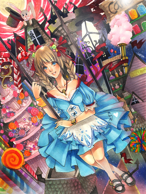Alice in Candyland