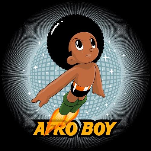 black astro boy