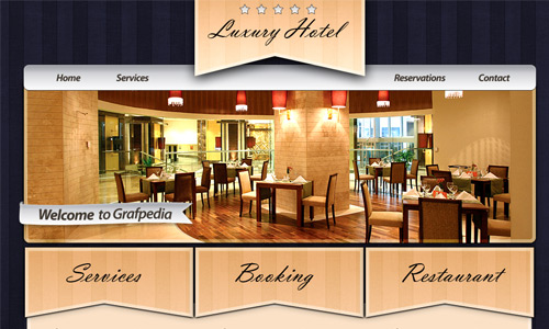 hotels restaurants layout design tutorial