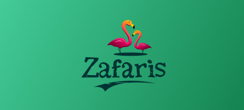 safaris animal logo design
