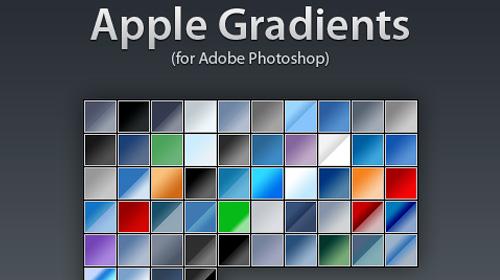 apple gradient photoshop