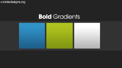 bold gradient photoshop