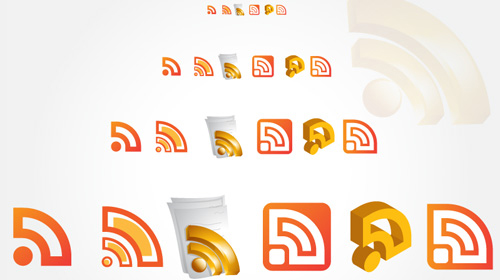 vector rss icons pack free download
