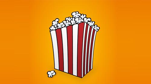create a popcorn box