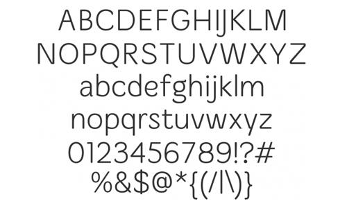 merge font