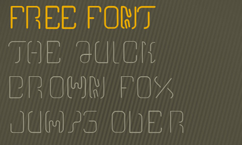 free font two one