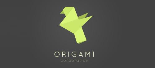 Bird Logos - Origami