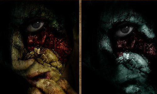 Halloween Photoshop Tutorials - Decay Tutorials