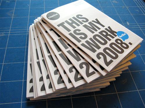 Booklet Designs - CV Poster Mailer
