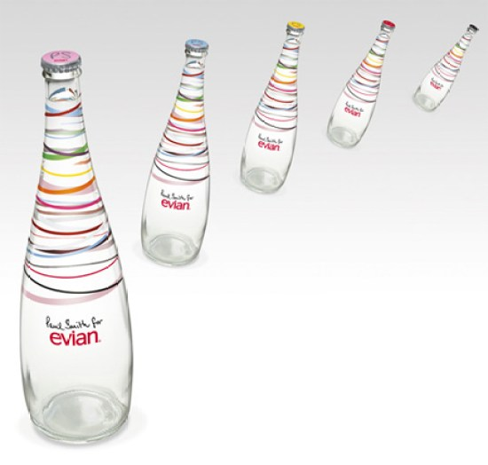 Creative Packaging Design - Paul Smith x Evian