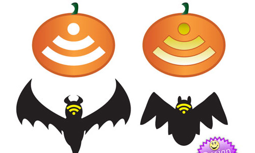Halloween Icons - Vector RSS Icons