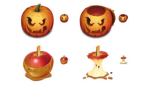 Halloween Icons - Trick or Trash