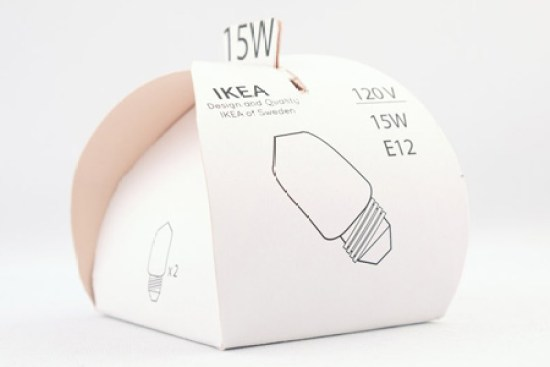 Creative Packaging Design - Lightbulb Box