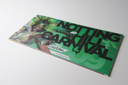 Brochure Design Examples - Notting Hill Carnival Brochure