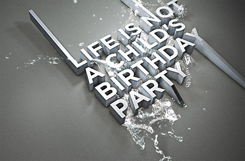3d Typography Designs - Linacbp
