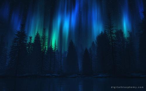 desktop wallpaper designs 04 - song of the sky