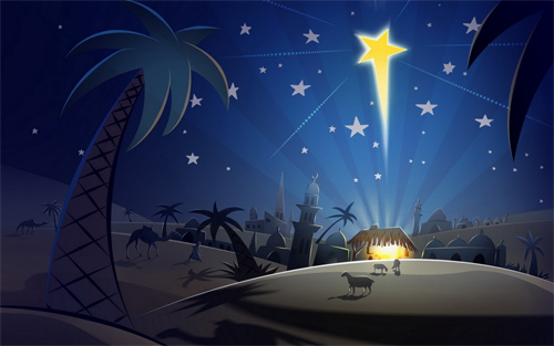 Free Christmas Desktop Wallpaper - Jesus Christ Wallpaper