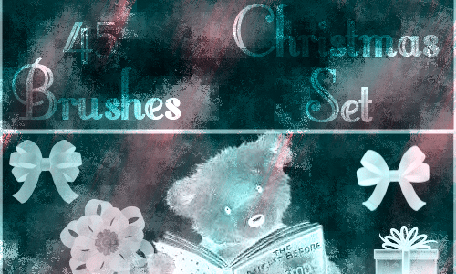 Christmas Brushes for Photoshop - Christmas Brushes