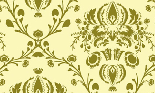 damask seamless vector
