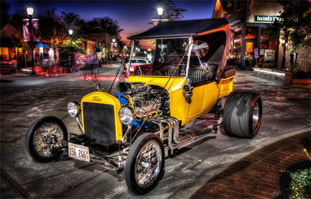 custom ford hdr