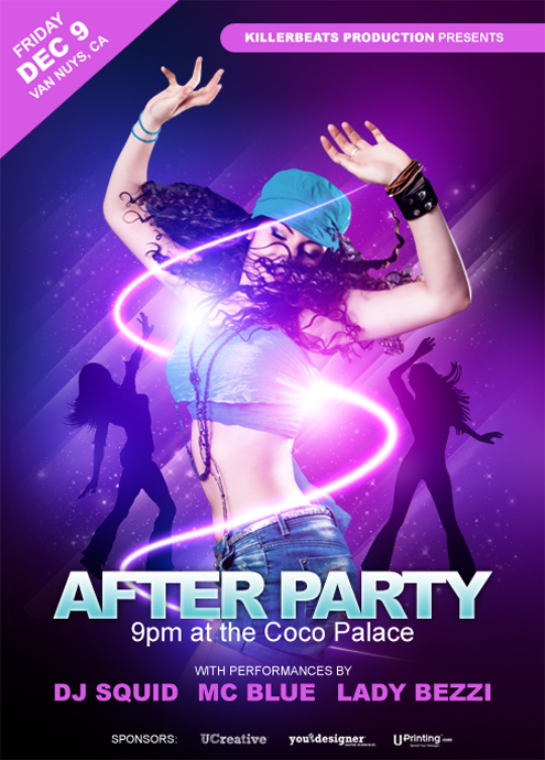 How to Make a Smokin Nightclub Flyer UCreative – Night Club Flyer