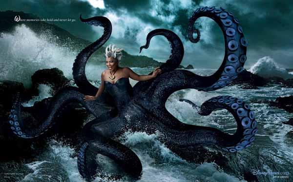 Annie Leibovitz - Disney, Ursula via YouTheDesigner.com