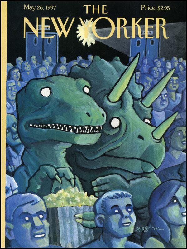 Art Spiegelman NY 05-26-1997 via YouTheDesigner.com