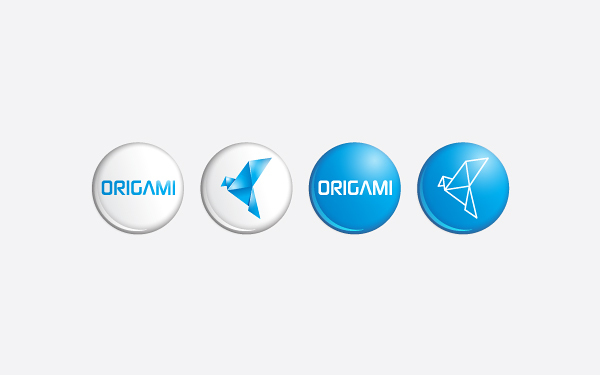 Origami Branding Strategy 04 by Mohhamed Mirza via YouTheDesigner.com