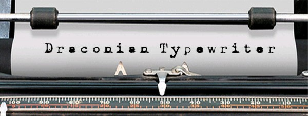 Draconian Typewriter via YouTheDesigner