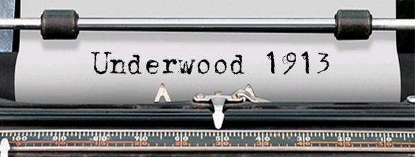 Underwood 1913 via YouTheDesigner