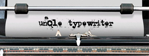Uncle Typewriter via YouTheDesigner