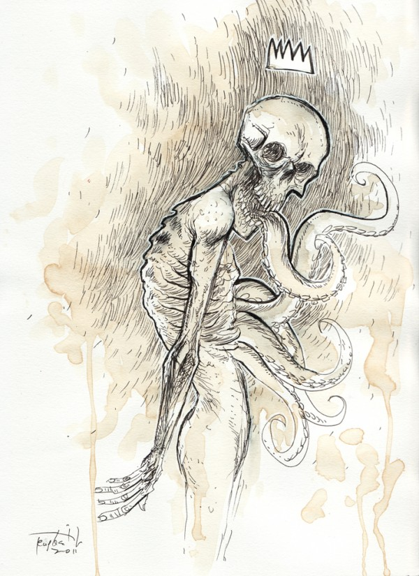Sketchbook Illustrations by Ben Templesmith via YouTheDesigner