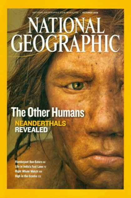 National Geographic October 2008 Issue via YouTheDesigner