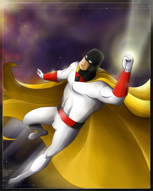 Space Ghost by ChemicalAlia via YouTheDesigner