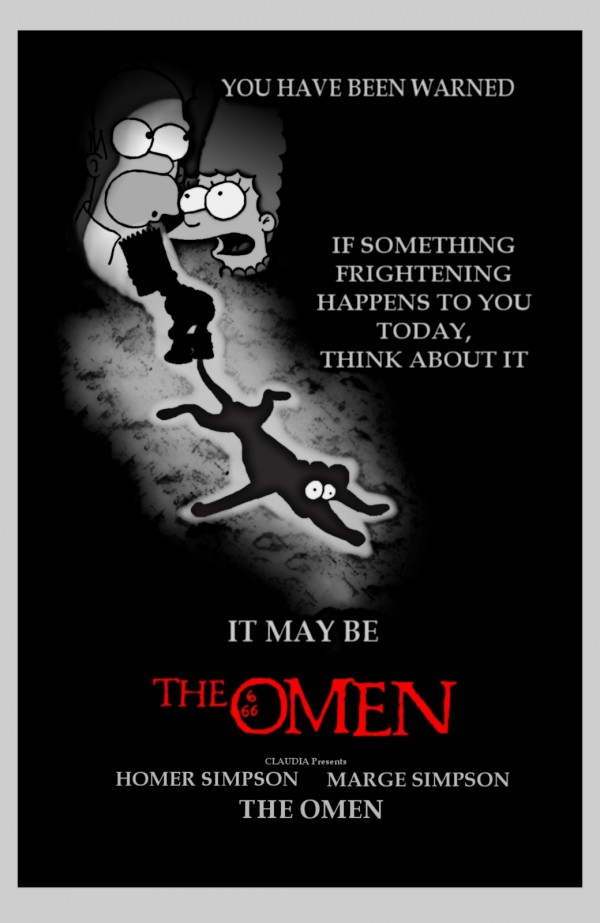 The Omen Parody via youthedesigner