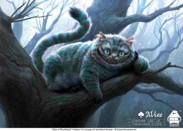 "Concept Art for ""Alice in Wonderland"" by Michael Kutsche"