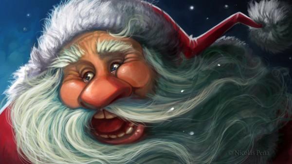 Santa Claus by Amisgaudi