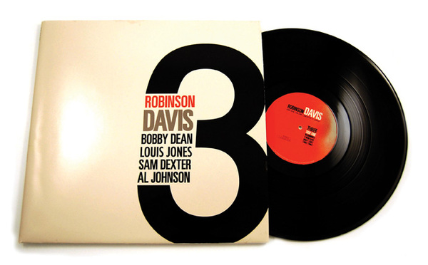 Robinson Davis Record Album Cover Design by Rachel Spoon