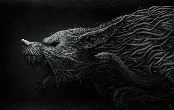 """Black dream"" by Anton Semenov"