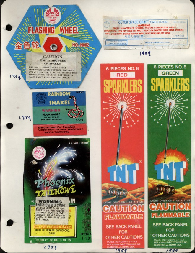 Independence Day Fireworks Vintage