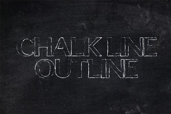 Chalkline Outline