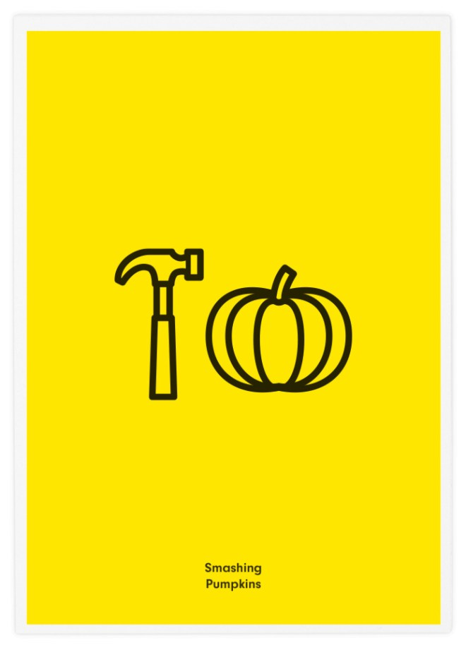 Poster-Design-Pictogram-Smashing-Pumpkins