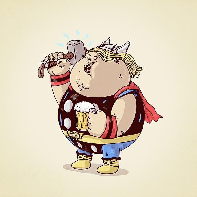 Chunky Thor