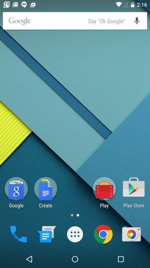 Android_5.0_-Lollipop-_homescreen