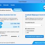 Ücretsiz Teamviewer Uzaktan Bağlantı Programı
