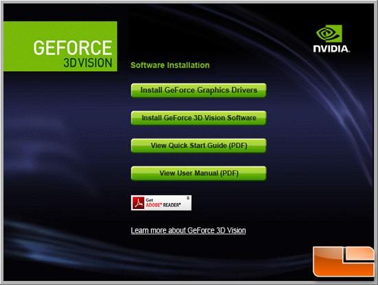 GeForce 3D Vision Driver