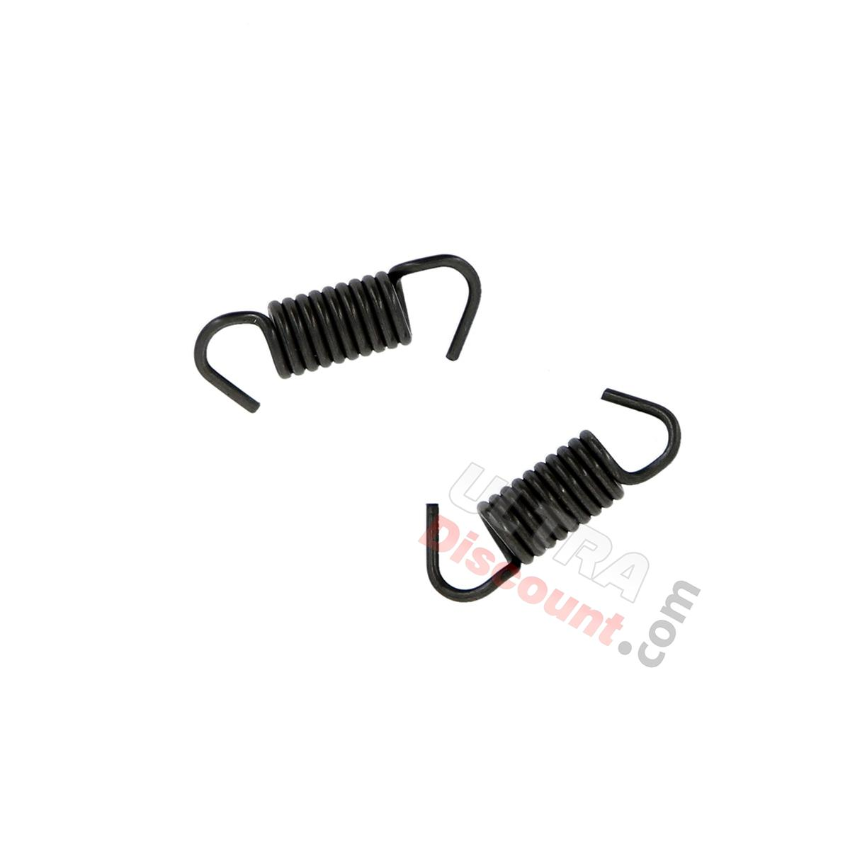 Set Of 2 Brake Shoes Springs For Scooter Baotian Bt49qt 9 Brake System Baotian Parts